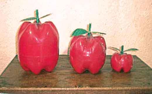 Поделки на яблочный спас из бутылки