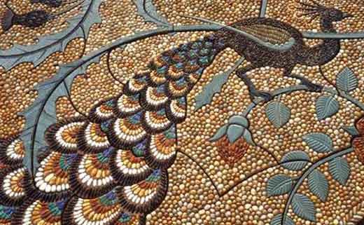 Мозаика для дорожек своими руками