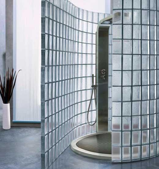 стеклоблоки для стен и перегородок в ванной каталог статей