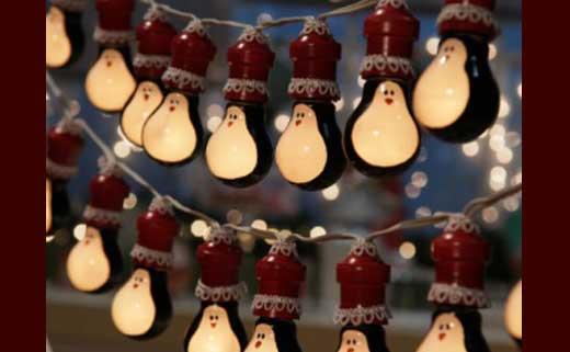 Гирлянды из лампочек своими руками на новый год