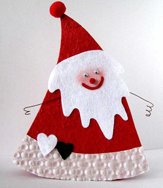Дед мороз из сизаля своими руками