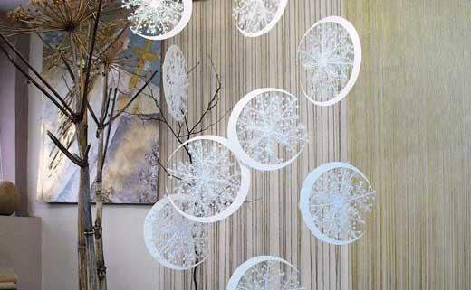 Подвесные украшения на новый год своими руками