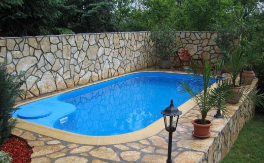 Как построить бассейн своими руками на даче фото