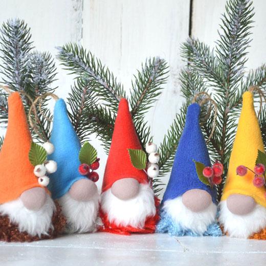 рождественские гномики