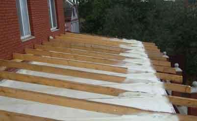 пенополиуретановое покрытие крыша