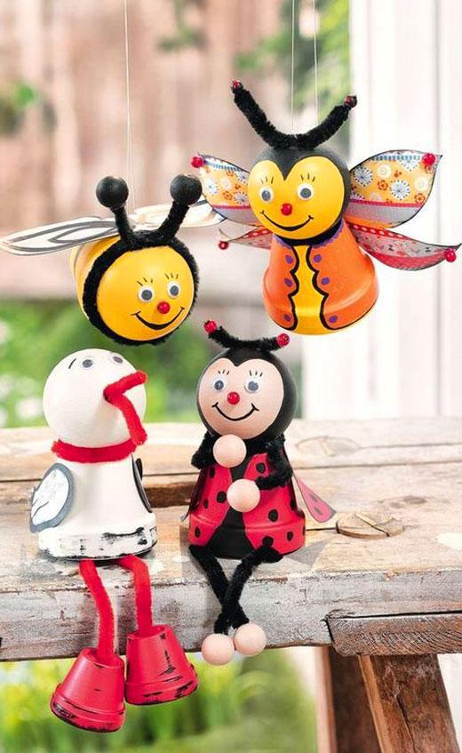 пчелки из горшочков