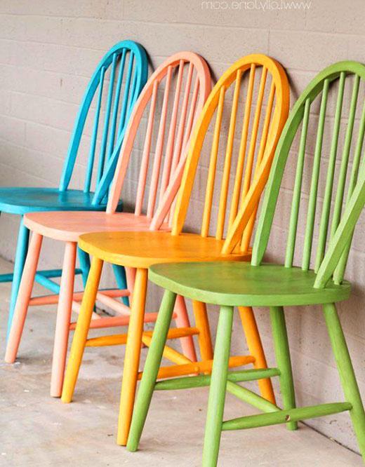 Покрасить стул