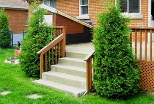 крыльцо и лестница