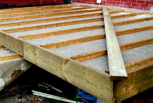 бетонная плита опалубка
