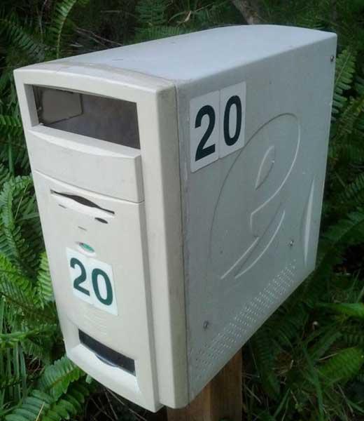 почтовый ящик из компьютера