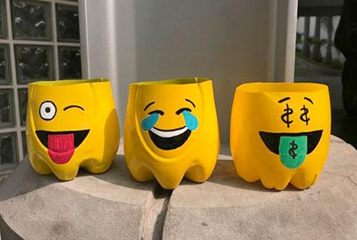 баночки из пластика