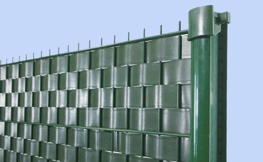 забор из ПВХ-ленты