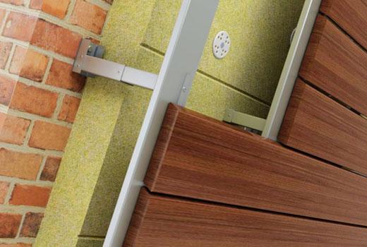 Планкен для отделки фасадов