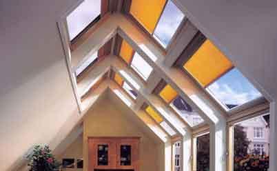комбинированные мансардные окна