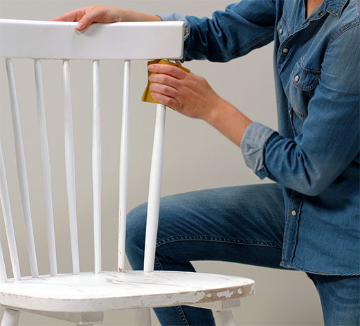 стул покраска
