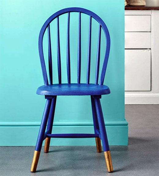 красивый стул покраска