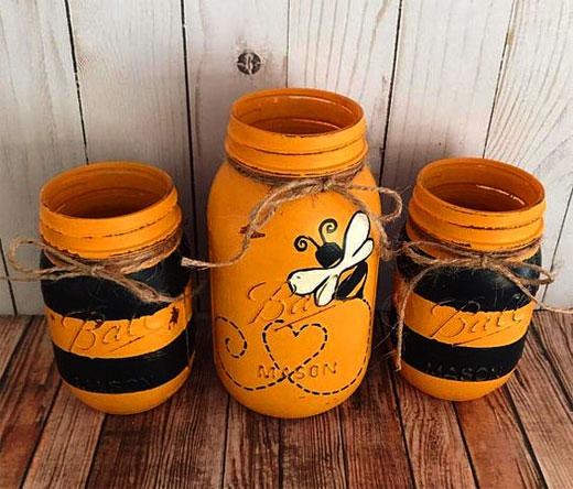 пчелки из банок