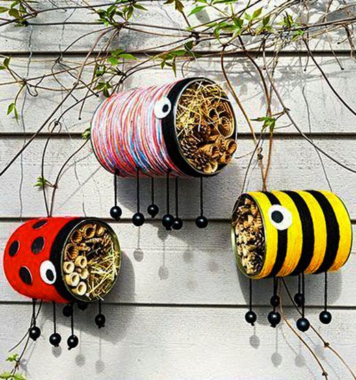 пчелки своими руками для сада