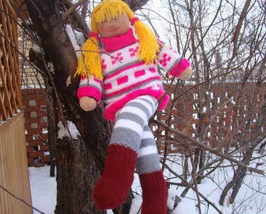 Садовая кукла Элли