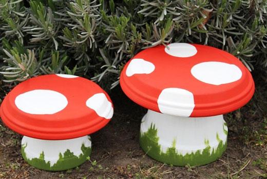 грибы из горшочков