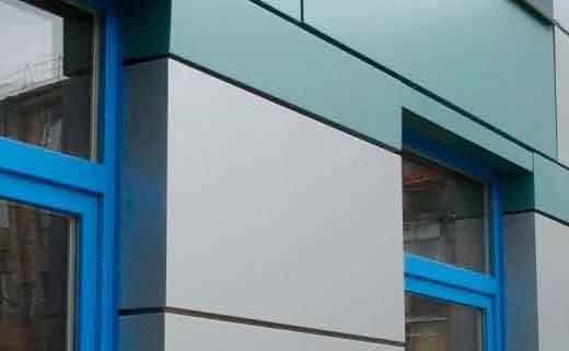 Флюкобонд - панели для фасада