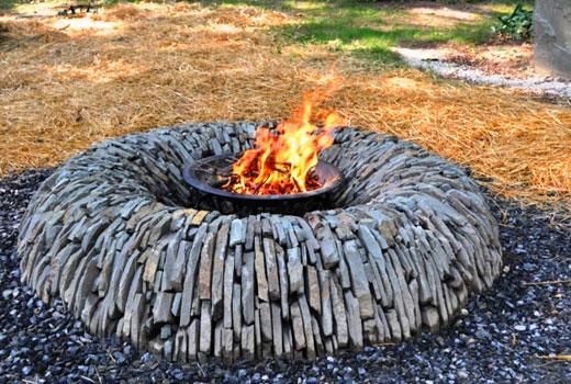 Идеи для сада - конструкции из камня