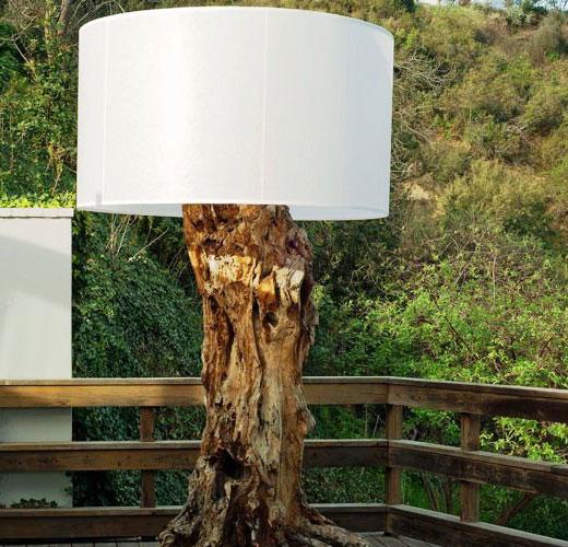 Самодельный садовый светильник