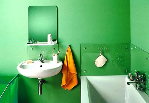 Красить ванную комнату своими руками 89