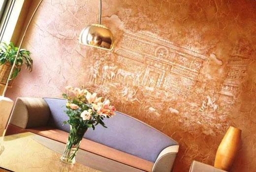 Декоративная штукатурка марокканка
