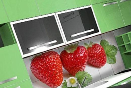Кухонный фартук из фотоплитки