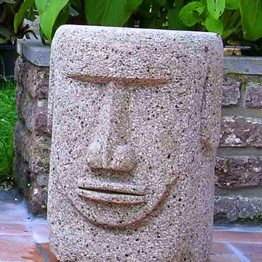 Скульптура-вазон для сада