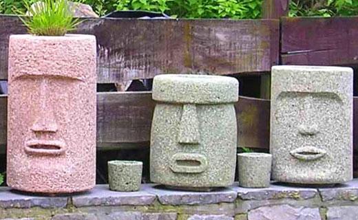 Скульптуры из перлитового камня