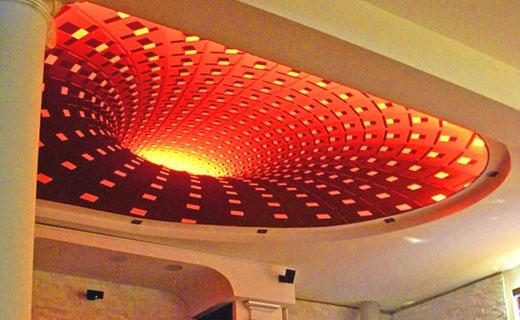 Потолки 3D - оригинально