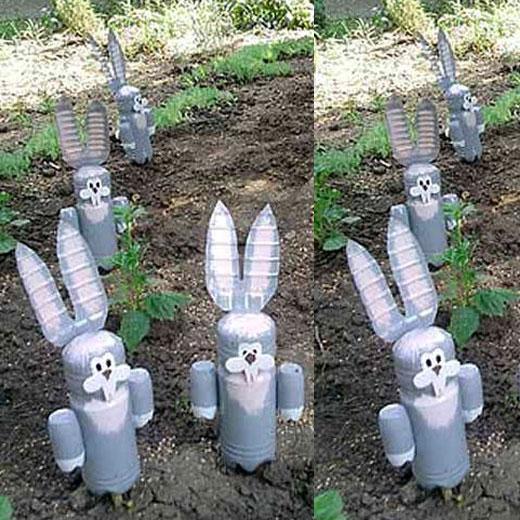 Поделка зайцы