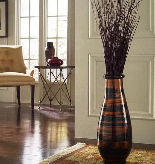 Напольная ваза - декор прихожей