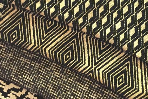 Джутовые текстильные обои