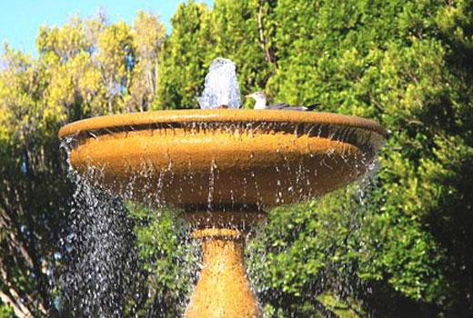 Высокий фонтан