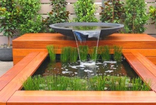 Водопад фонтан