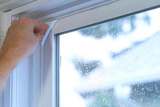 Датчик сигнализации на окне
