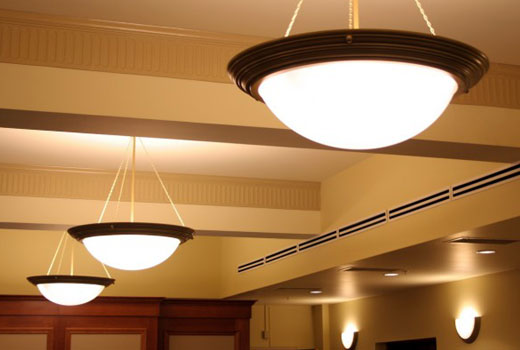 Светильники потолочные в прихожей