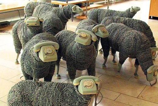 Поделки для сада Овцы