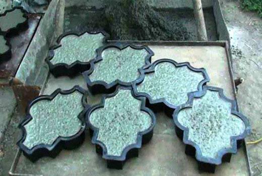 Формы для садовой плитки