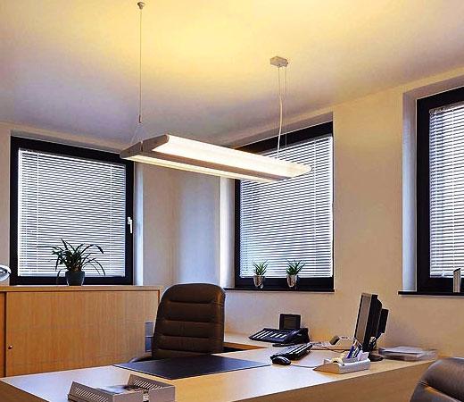 Подвесной светильник люминосцентный