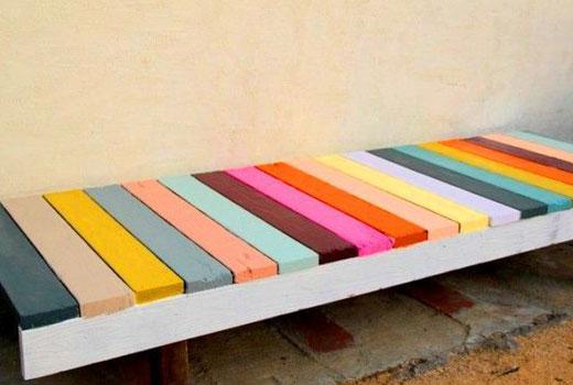 Простая удобная скамейка