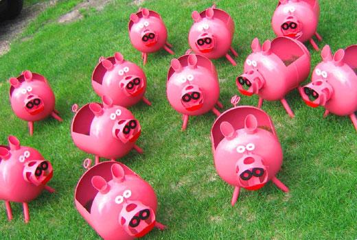 Поделки свинки