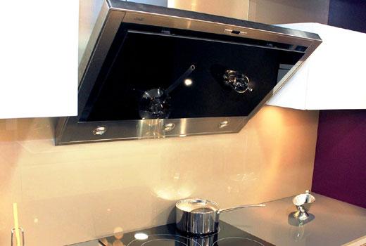 Телескопическая кухонная вытяжка