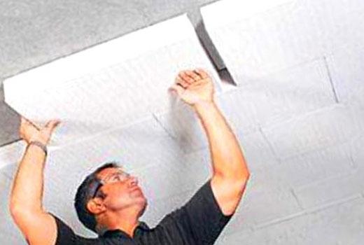 Плита пенополистирольная для утепления потолка