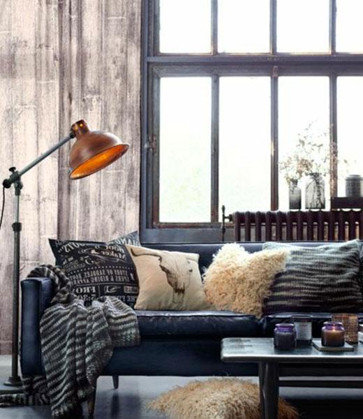Деревянный дом - винтажный стиль