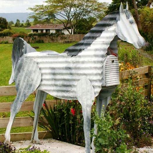 Лошадь из оцинковка