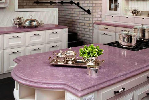 Оригинальная столешница кухонного стола